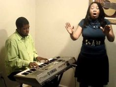 """Tomeka Tiller singing """"Lord I'm Available to You"""""""
