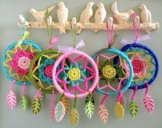 """Dreamcatchers, """"An enchanted twist on the traditional design"""" (Lori Marie: Pretty Little Things)"""