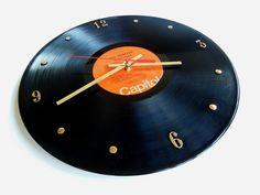 THE BEATLES Vinyl Record Clock Abbey Road by RecordsAndStuff, $28.00