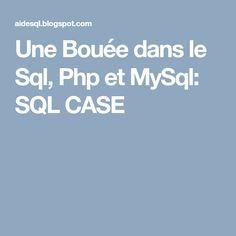 Une Bouée dans le Sql, Php et MySql: SQL EXCEPT / MINUS