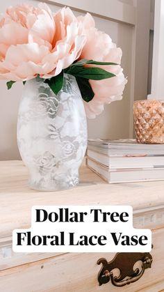 Dollar Tree Decor, Dollar Tree Crafts, Dollar Tree Flowers, Dollar Tree Vases, Diy Easter Decorations, Decoration Table, Tray Decor, Easter Centerpiece, Diy Centerpieces