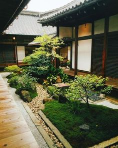 Japanese Garden Theme For A Getaway In Your Own Backyard Small Japanese Garden, Japanese Garden Design, Japanese House, Japanese Gardens, Japanese Garden Backyard, Japanese Landscape, Garden Kids, Chinese Garden, Japanese Style