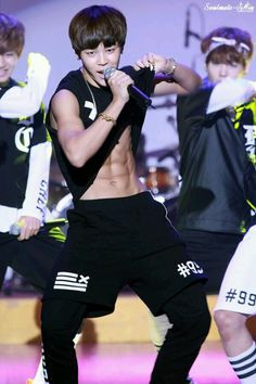 jiminn being a fetus but still slaying that Chocolate abs