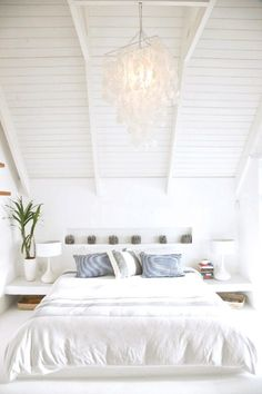 Beach house bedroom