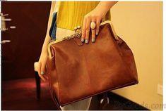 Vintage Hollow Satchel Tote Shoulder Bag & Handbag