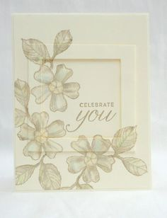 Birthday Blossoms - Soft Neutrals