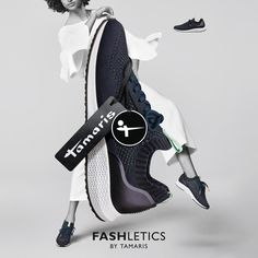 Fashletics by Tamaris: Fashion and athletics combined in one collection.