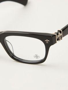 258aa5be3b2 Chrome Hearts Wayfarer Glasses - Monocle - Farfetch.com Chrome Hearts