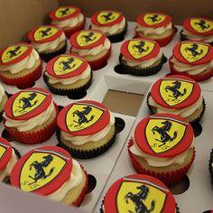 Ferrari cupcakes by Cutie Cakes                                                                                                                                                                                 More