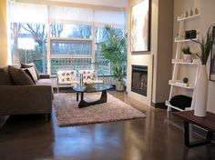 Coco on Spruce - contemporary - living room - vancouver - by Fluff Designs & Decor