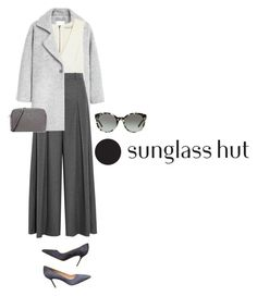 """""""Celebrate in Every Shade with Sunglass Hut: Contest Entry"""" by themerbear ❤ liked on Polyvore featuring MANGO, Alice + Olivia, J.Crew, MICHAEL Michael Kors, Tory Burch and Manolo Blahnik"""