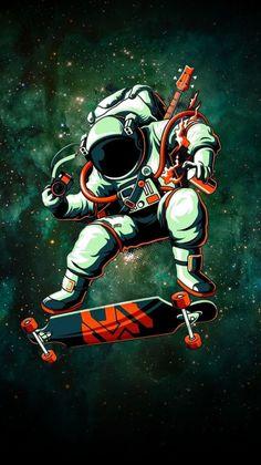 * Wallpapers Phone Generator: Wallpapers Iphone 6 Doctor Who Graffiti Wallpaper, Wallpaper Space, Galaxy Wallpaper, Graffiti Art, Iphone Wallpaper, Wallpaper Wallpapers, Space Drawings, Space Artwork, Astronaut Wallpaper