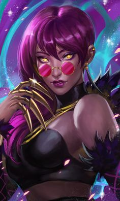 Explore the Kibbys Fav'd League of Legends collection - the favourite images chosen by KibbyCup on DeviantArt. Lol League Of Legends, Evelynn League Of Legends, Akali League Of Legends, Gaming, Draw On Photos, Star Art, The Villain, Cosplay, Game Character
