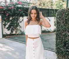 """forever stealing his clothes"" Summer Outfits, Casual Outfits, Cute Outfits, Jessica Conte, Jess And Gabe, Gabriel Conte, Church Outfits, Dress To Impress, Celebs"