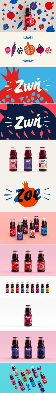 The Design For This Juice Was Inspired By Paper Cutouts and Collages — The Dieline | Packaging & Branding Design & Innovation News