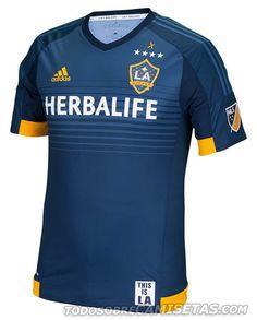 LA Galaxy 2015 Adidas Away Kit | Todo Sobre Camisetas