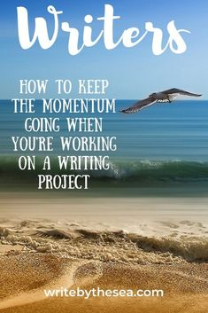 Freelance writer and children's author Amy O'Quinn explains how to keep the momentum going on your writing projects. Memoir Writing, Writing Romance, Writing A Book, Writing Tips, Romance Novels, Cool Writing, Kids Writing, Creative Writing, Writing Courses