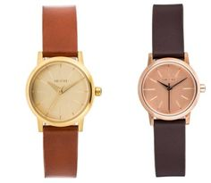 Nixon Kenzi Leather Reloj Rose Gold Brown reloj Rose reloj Nixon Leather Kenzi Gold brown Noe.Moda