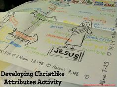 Family Home Evenings and more....: Developing Christlike Attributes Lesson