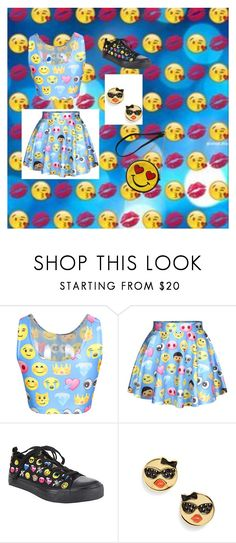 """""""Emoji's on FLEEK"""" by swag345 ❤ liked on Polyvore featuring Kate Spade and Olivia Miller"""