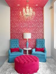Turquoise with fuschia - Just darling!