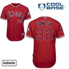 Spot Josh Hamilton Red Jersey for Los Angeles Angels.Where to buy cheap  wholesale Los ee8ca4d58