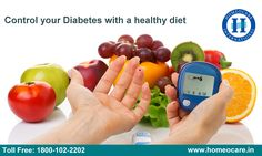 Diabetes occurs when your blood sugar levels are higher than normal. A healthy diet can help you in prevent diabetes. Know about it and win against to your diabetes.  For More Details :  Visit Us : http://www.homeocare.in/diabetes-treatment.html