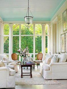 South Shore Decorating Blog: 30 Stylish Sunrooms