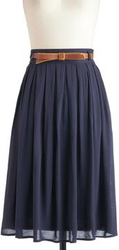 ModCloth Porch Swing Dance Skirt -- hello perfect year-round skirt.