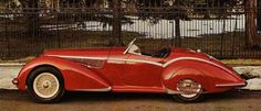 1938 Alfa Romeo 8C 2900B. Beautiful.