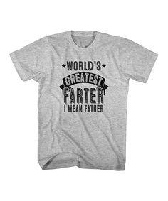 Athletic Heather 'Farter' Tee - Big