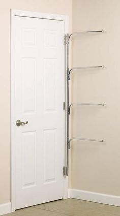 Clutterbuster™ Family Towel Bar/Chrome  This solves one of my major bathroom issues!!