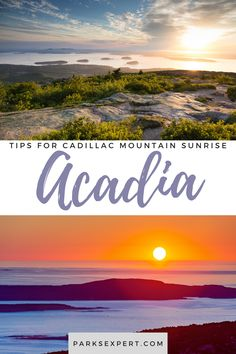 Cadillac Mountain sunrise is one of the most beautiful in the world. Here are some tips for securing reservations and getting up early to see it without any regrets. Travel Maine, Usa Travel, Acadia National Park, National Parks, Travel Articles, Travel Tips, New England States, Getting Up Early, Outdoor Woman