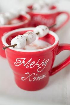 .Look at how these marshmallows are on a stick...wintery and festive...I officially have no time to work because of Pinterest and all the great ideas! lol