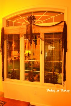 Halloween window - Buhay at Bahay (Life & Home)