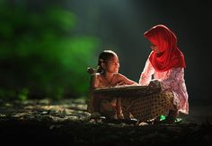 Joy. Indonesian Village. Photography by Herman Damarher.