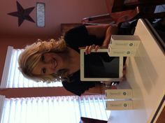 """Cari Knows That Nerium Gives Back!"" my mama loves her iPad! check out neriumAD :) onebeautifulu.nerium.com"