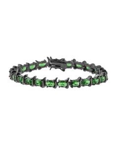 pulseira esmeralda de luxo semi joias online