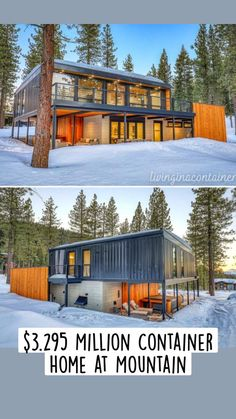Building A Container Home, Container Buildings, Container Houses, House Pillars, Shipping Container Home Builders, Casas Containers, Unusual Homes, Container House Design, Prefab Homes