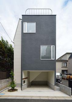 敷地を最大限に生かした家・間取り(東京都新宿区) | 注文住宅なら建築設計事務所 フリーダムアーキテクツデザイン