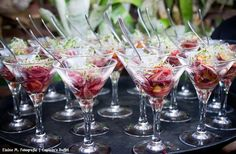 Ceviche Vegetariano - Captains Buffet. #wedding #casarnapraia #casarembuzios #buffet #buzios