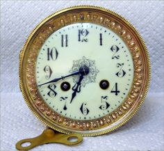 Complete Antique French Movement for Mantle Clock | eBay