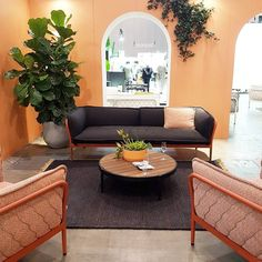 Denfair highlight. Loving the curved arches and chair backs on the @madebytait stand  . . . #Denfair #interiordesign #design #melbournedesign #furniture #interiordesigner #inspo #designer