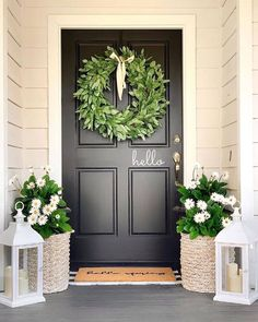 #frontporch #frontporchdecor #farmhouse #exteriors #limewash #modernfarmhouse #paintedbrick #instagood #instahome #topiary #olivetree #topiaries #betterhomesandgardens #farmhouse #farmhousedecor #farmhouseinspired #farmhousedesign #farmhouseliving #beautifuldecor #fixerupper #farmhousestyle #farmhouselife #farmhousechic #farmhousehome #modernfarmhouse #farmhousehappy #modernfarmhousestyle Modern Farmhouse Style, Farmhouse Chic, Farmhouse Design, Spring Home, Spring Is Here, Black Front Doors, Diy House Projects, Outdoor Living, Outdoor Decor