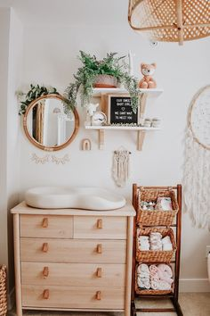 Boho Baby Nursery - Project Nursery Boho has always been my favourite. - HOME - Boho Baby Nursery – Project Nursery Boho has always been my favourite style so when it - Baby Room Boy, Baby Girls, Baby Bedroom, Baby Girl Names, Baby Crib, My Baby Girl, Baby Nursery Closet, Master Bedroom, Girl Kids Room