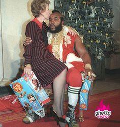 I pity the fool who dont like Christmas