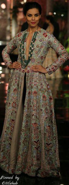 Pinterest: @Revathy Bose || คdamant love on Anarkali's ✿。。ღ  || Manish Malhotra Anarkali - The Persian story