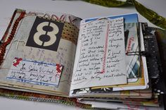 Stitched journal.