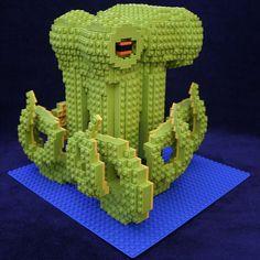 big green Lego octopus!