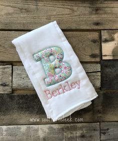 Baby Bibs & Burp Cloths Feeding 2019 New Style Personalised Page Boy Wedding Baby Bib Any Name Embroidered In Any Colour Crazy Price